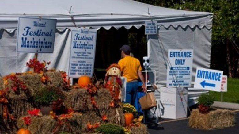 Festival Marketplace Tent